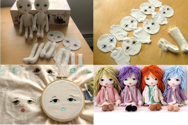Изготовление куклы - милашки
