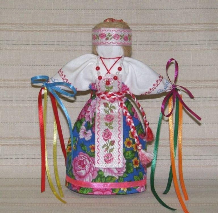 Славянская кукла оберег своими руками мастер класс
