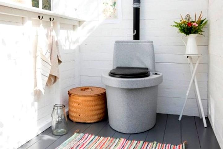 Туалет для загородного дома