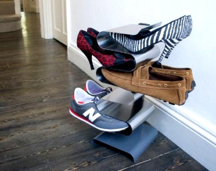 Необычная полка для обуви