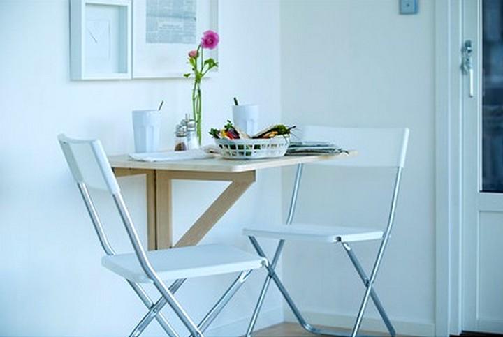 Пристенный кухонный стол: как выбрать.