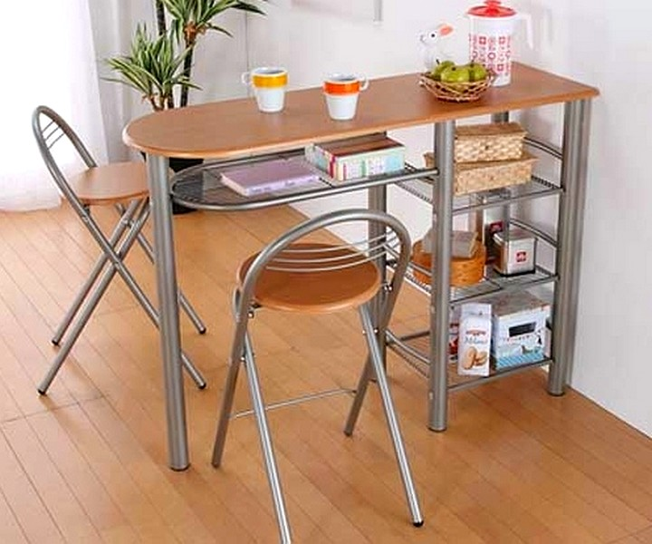 Пристенный кухонный стол2