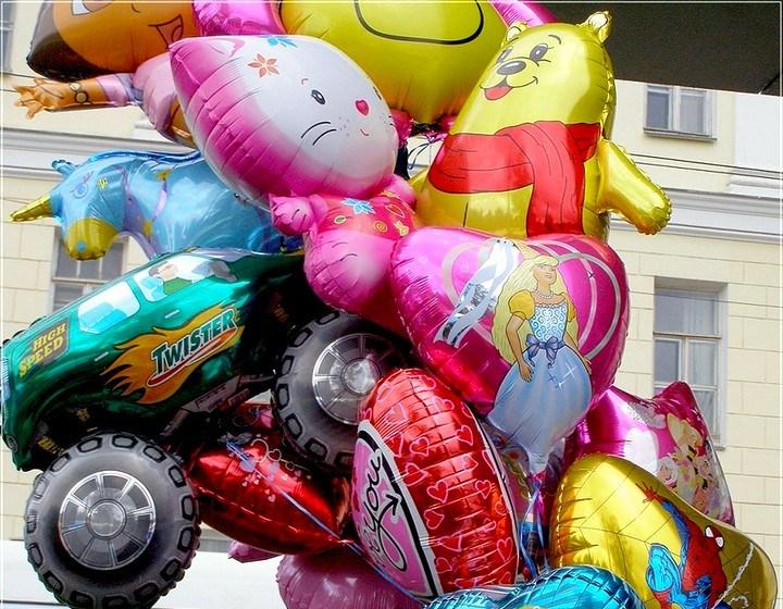 Фольгированные шары.