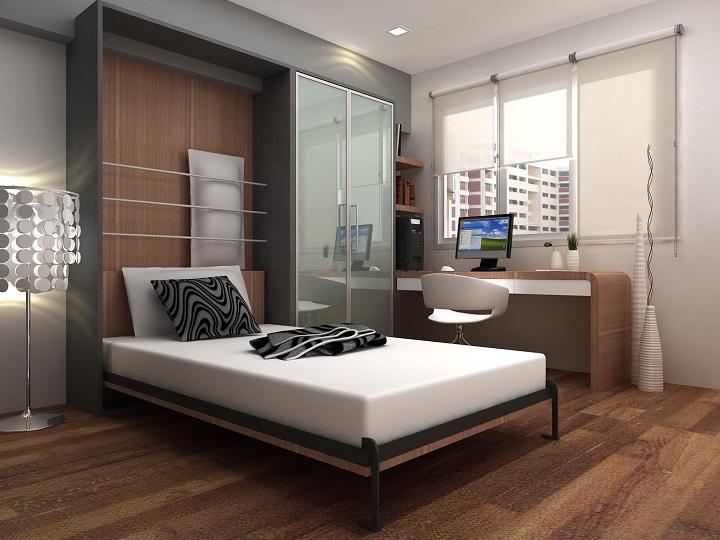 Шкаф кровать трансформер в интерьере