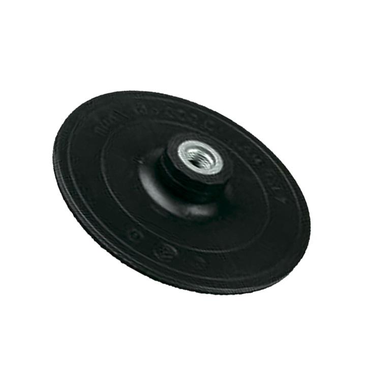 Резиновый диск для УШМ с липучкой для фиксации круга из наждачной бумаги для обработки дерева