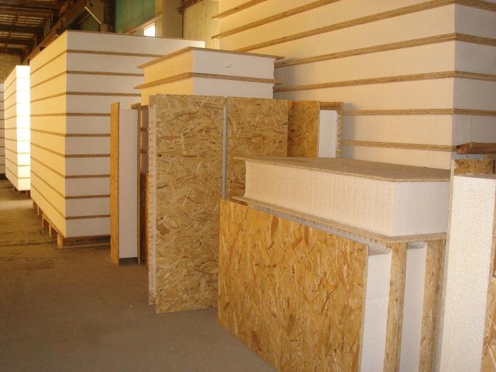 Конструкция деревянной сэндвич панели для быстрого возведения домов
