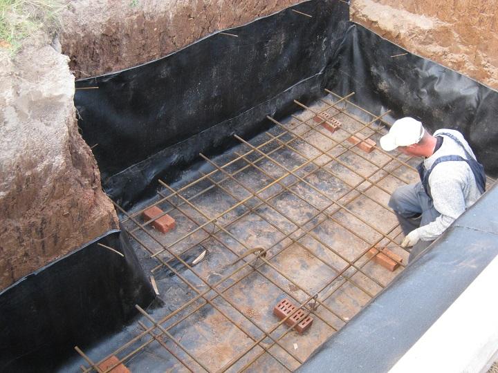 Самостоятельная заливка плиты перекрытия для погреба