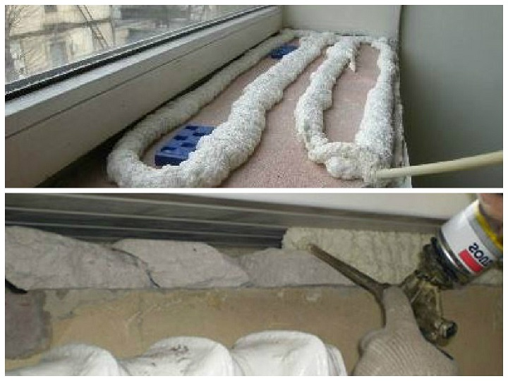 Как утеплить подоконник пластикового окна своими руками 66