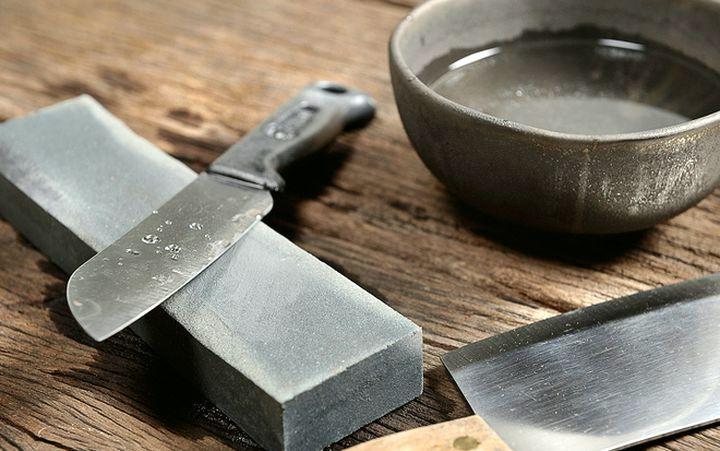 Заточка лезвия ножа