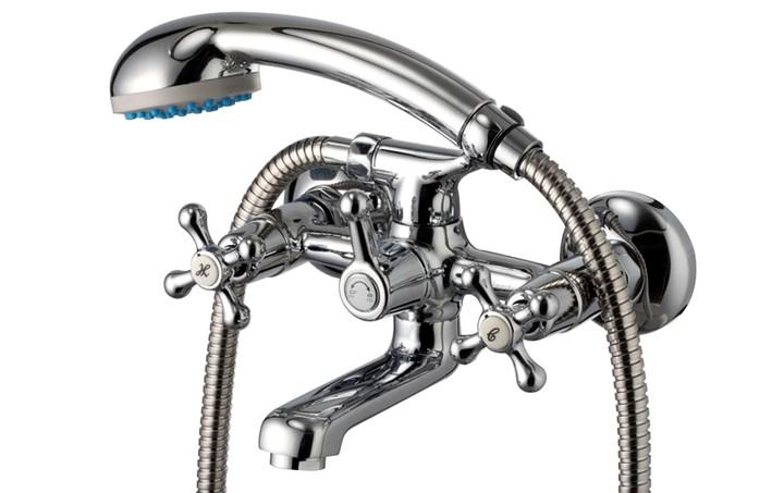 Вентильные смесители с душем