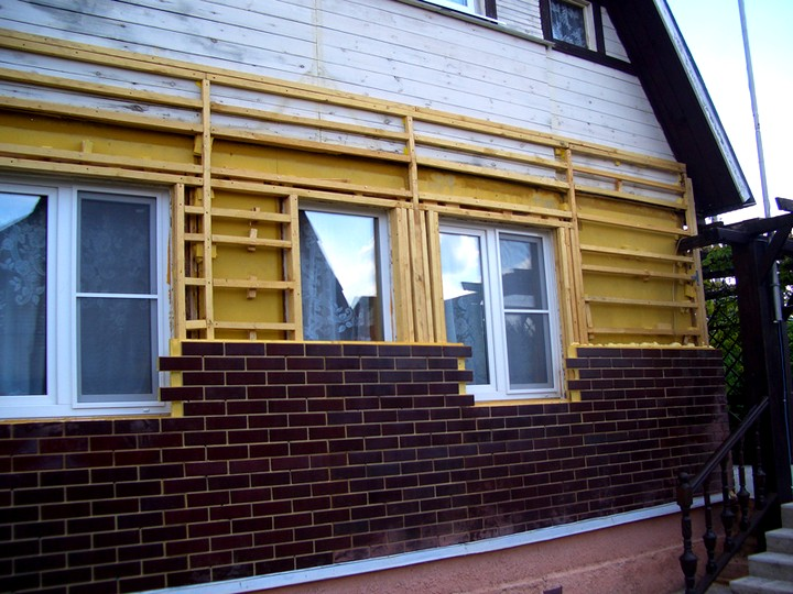 Каркас для монтажа фасадных термопанелей