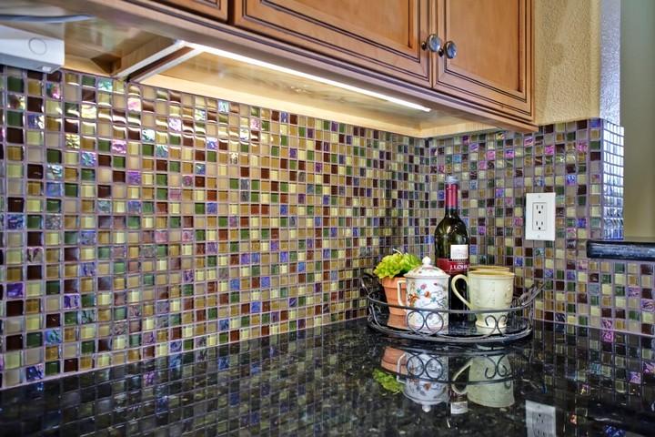Плитка для кухни на фартук Мозаика
