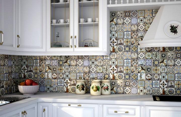 Плитка для кухни на фартук 3