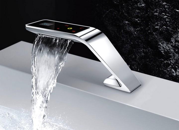 Электронный (сенсорный) смеситель для раковины в ванной