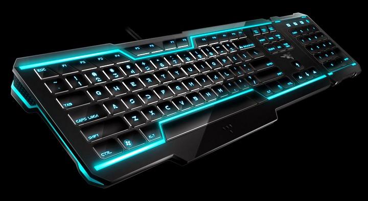клавиатура с неоновой подсветкой