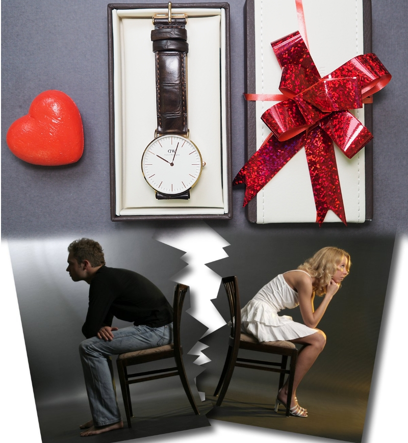 Подарки с фотографией часы 58