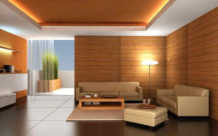 Красивый двухуровневые потолки из гипсокартонга