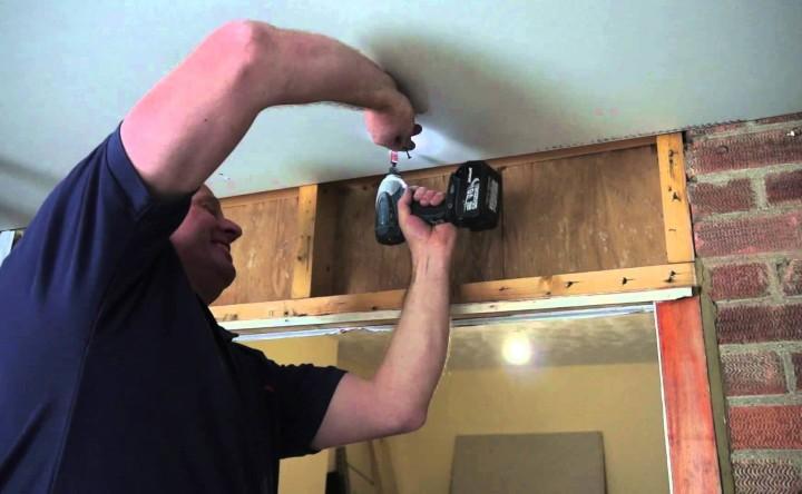Как сделать потолок из гипсокартона