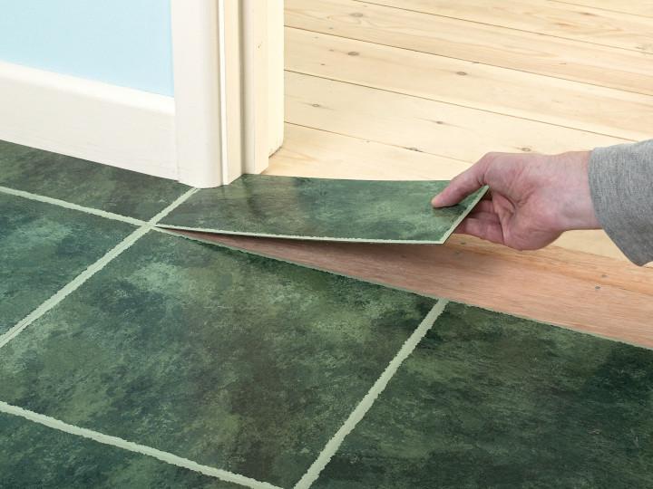 Традиционный способ укладки плитки на пол