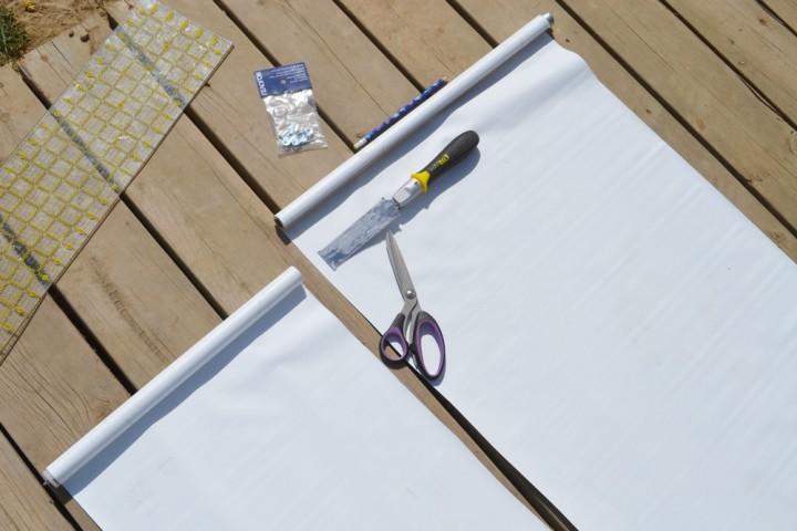 Как сшить рулонные шторы