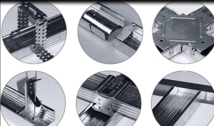 Профиль для гипсокартона размеры и виды крепежных элементов