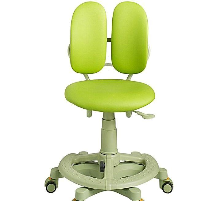 Раздвоенная спинка ортопедического стула