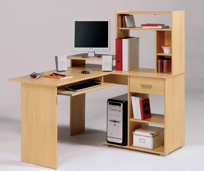 Угловой письменный стол из ЛДСП