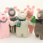 Фото 96: Мягкие игрушки свинки