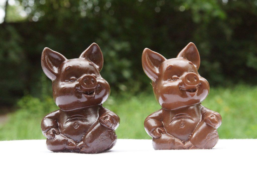 Шоколадные поросята