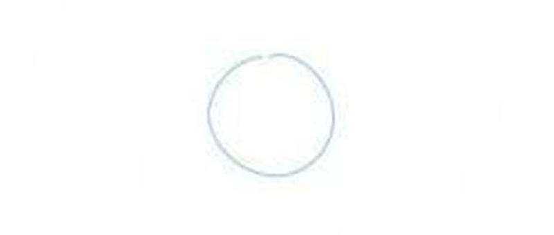 Первый этап - рисование круга