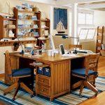 Фото 34: Письменный стол на 3 места