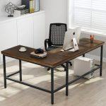 Фото 23: Винтажный угловой письменный стол