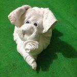 Фото 79: Хрюшка из полотенца