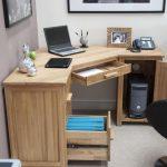 Фото 42: Угловой стол с ящиками