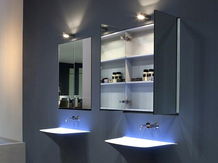 Зеркало в ванную комнату с подсветкой 2