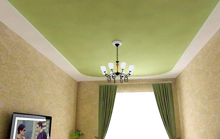 Натяжные бесшовные тканевые потолки Клипсо2