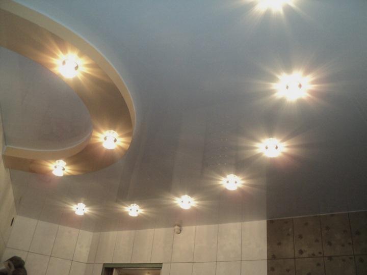 Поливинилхлоридные натяжные потолки