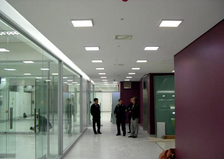 Потолочные люминесцентные светильники