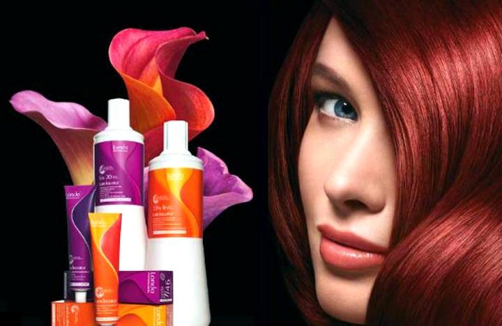 Преимущества профессиональных красителей