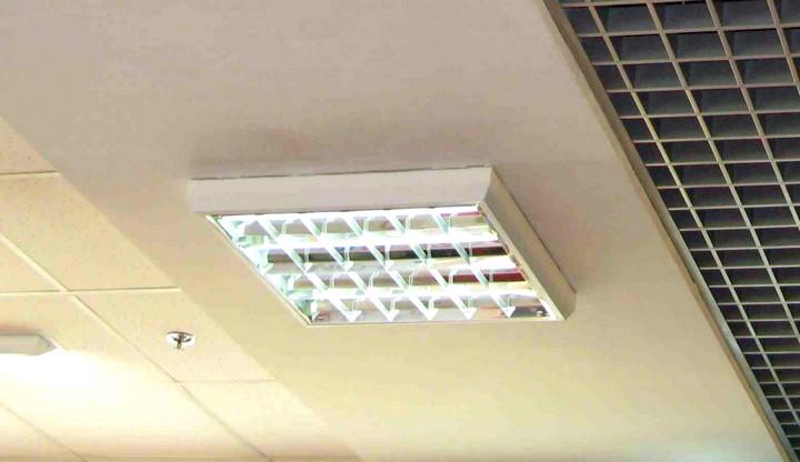 Растровые светильники люминесцентные