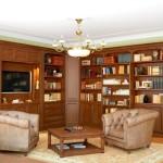 Угловая композиция для гостиной в классическом стиле