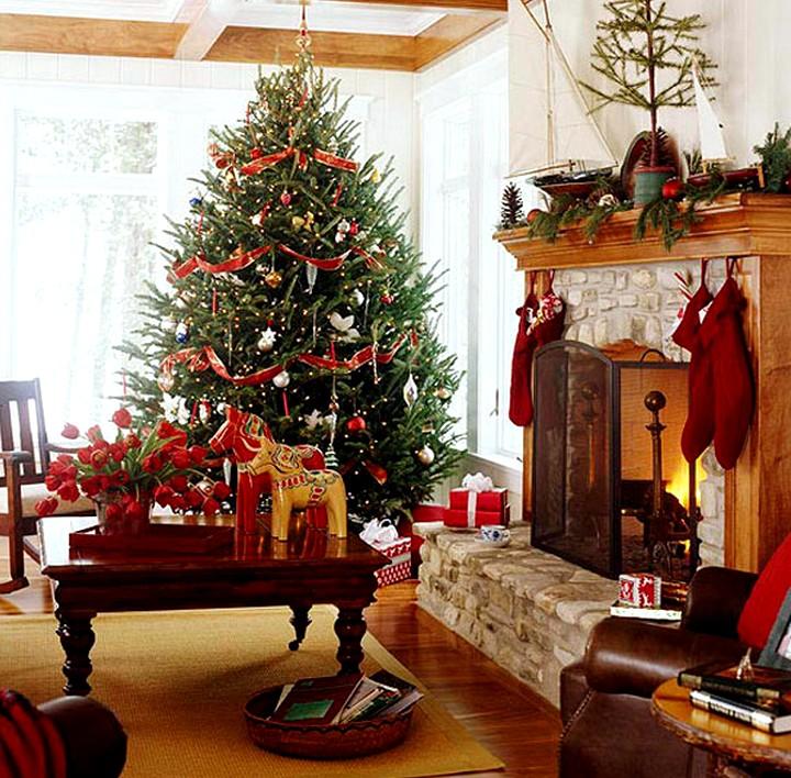 Украшение комнат к новому году