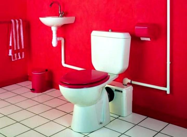 Фекальный насос с измельчителем для туалета2
