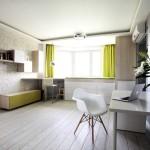 Функциональная гостиная в современном стиле