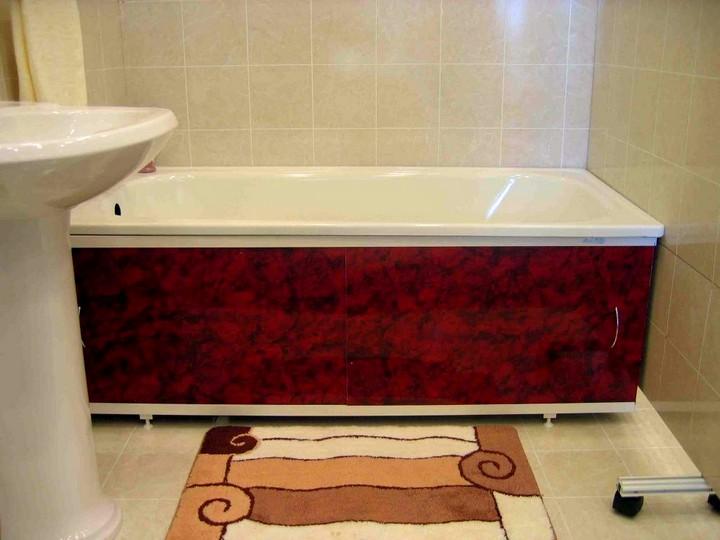 Под ванну сделать из пвх панелей своими руками 72