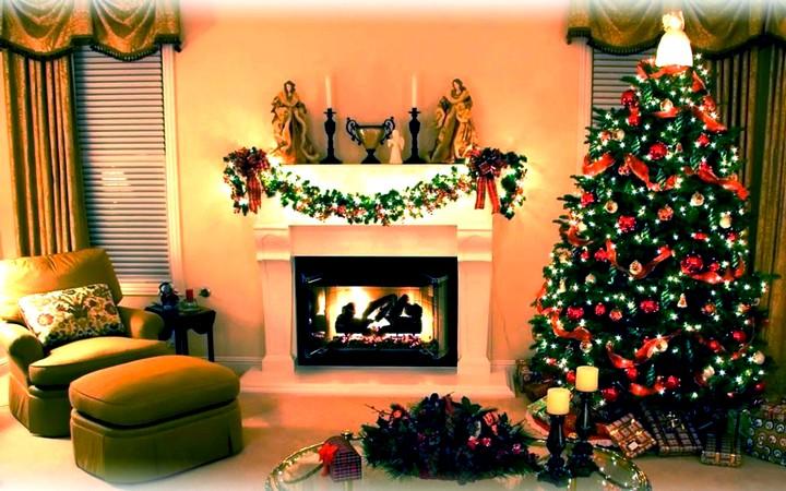как украсить дом в новогодние праздники