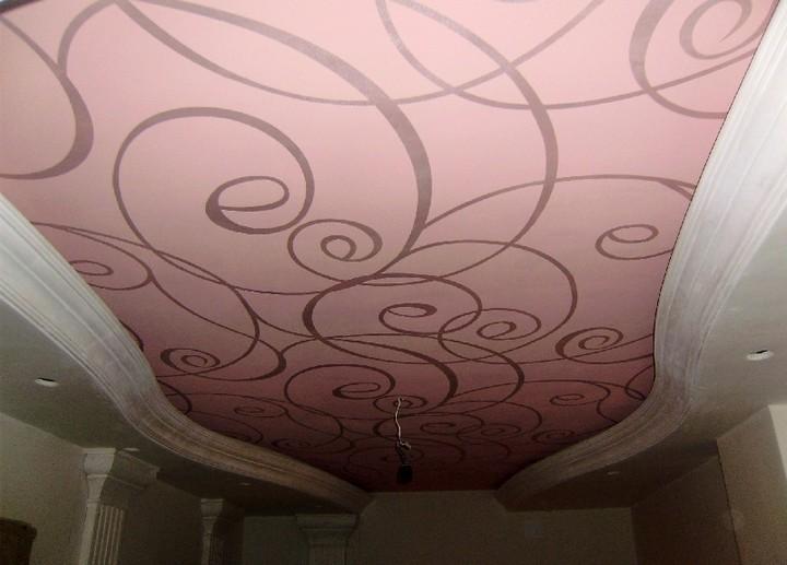 тканевые натяжные потолки - преимущества