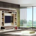 легкое и стильное решение для гостиной