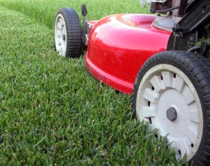 Практичные колеса газонокосилки