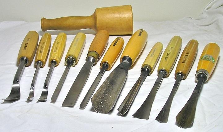 Набор инструментов для резьбы по дереву для начинающего